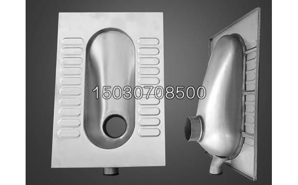新凯不锈钢蹲便器 尺寸可定制 车载改装专用不便器