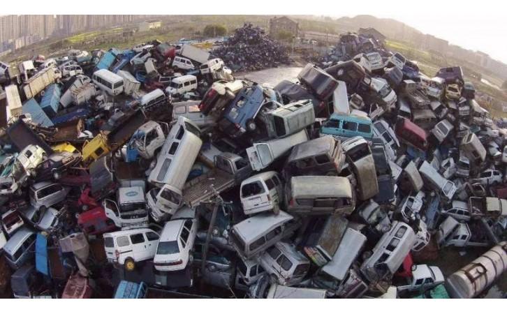 温州报废汽车回收-- 孙凯物资回收