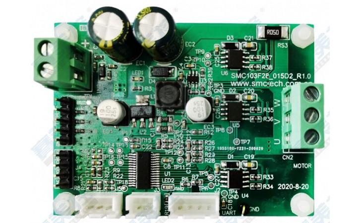 深圳赛美控吸尘器智能扫地机控制板可用于无传感器永磁同步电机
