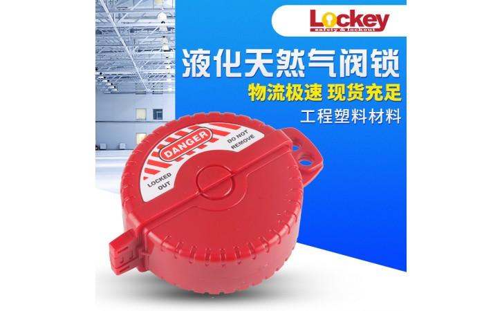 洛科_工业标准闸阀锁_工程塑料安全锁具-- 洛科安全防护用品公司